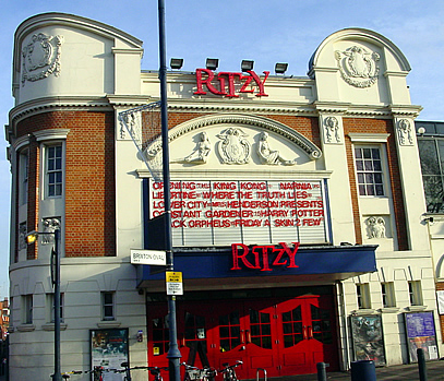 Image of the Brixton Ritzy Cinema bar