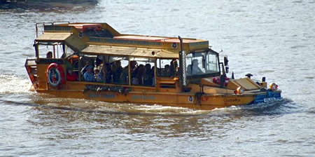 Image of the London Duck tours