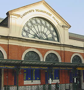 Image of the London Transport Museum venue