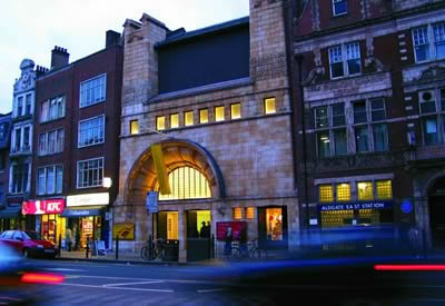 Image of the Whitechapel Art Gallery venue