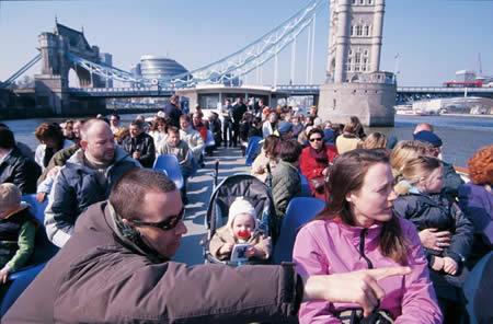 Image of the London Eye River Cruise Experience