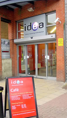 Image of the Idea Store - Bow