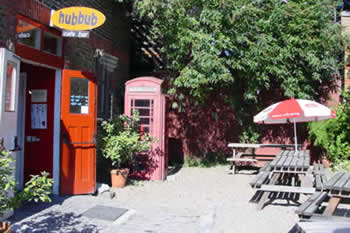 Image of Hubbub café at The Space