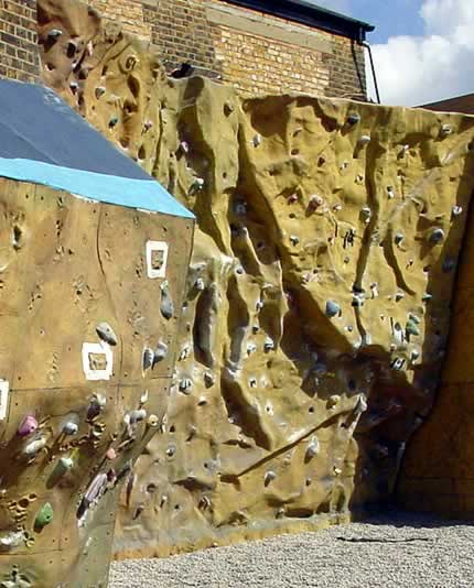 Image of the Mile End Climbing Wall