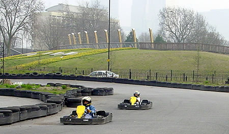 Image of the Revolution Outdoor Karting