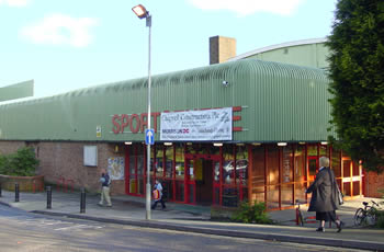 Image of the Hornchurch Sports Centre